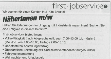 Herr Wallraff hat Recht!!! first-jobservice